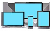 Mobile Responsive Website Design Icon